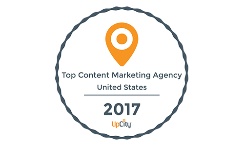 Top Content Marketing Agency 2017 US from UpCity